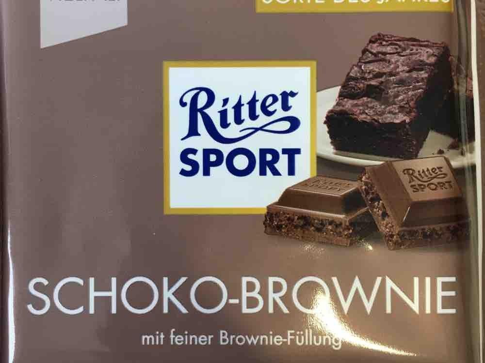Ritter Sport Schoko-Brownie von Sassi91 | Hochgeladen von: Sassi91
