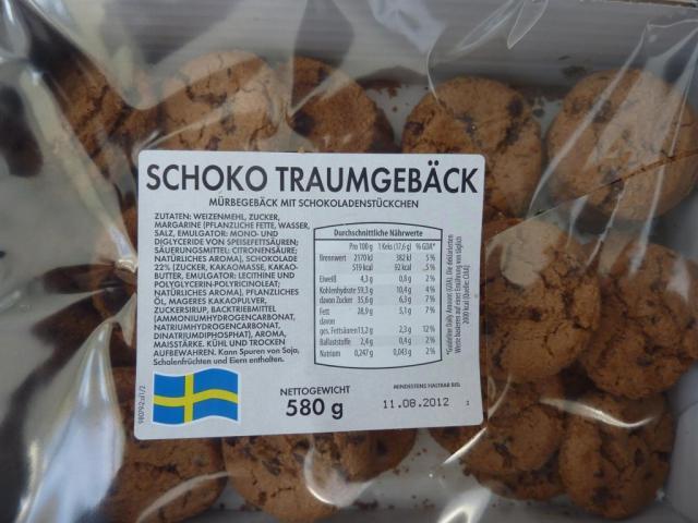 Schoko Traumgebäck (Mürbegebäck mit Schokoladenstückchen)   Hochgeladen von: E. Bartens