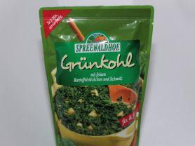 Grünkohl, mit feinen Kartoffelstückchen und Schmal   Hochgeladen von: dirkibus