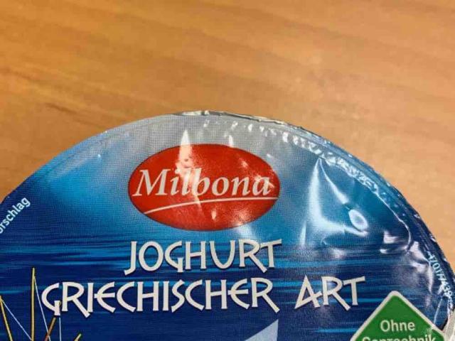 Joghurt griechischer Art Milbona, Natur von AngieBisch | Hochgeladen von: AngieBisch