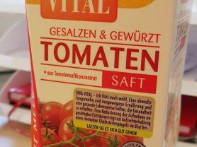 Tomatensaft, aus Tomatensaftkonzentrat   Hochgeladen von: FlowerKid