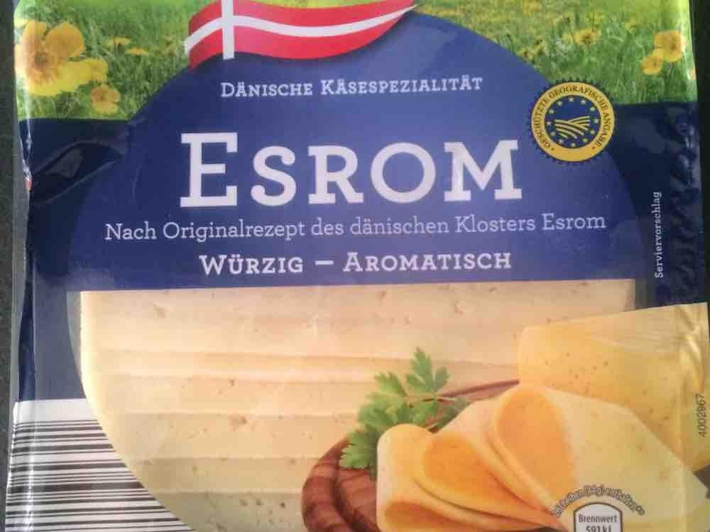 Aldi, Dänischer Schnittkäse, Esrom Kalorien - Käse - Fddb