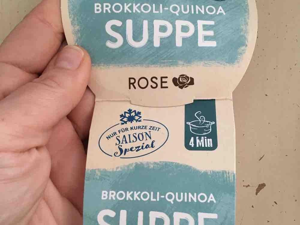 Brokkoli Quinoa Suppe von yvonnema | Hochgeladen von: yvonnema
