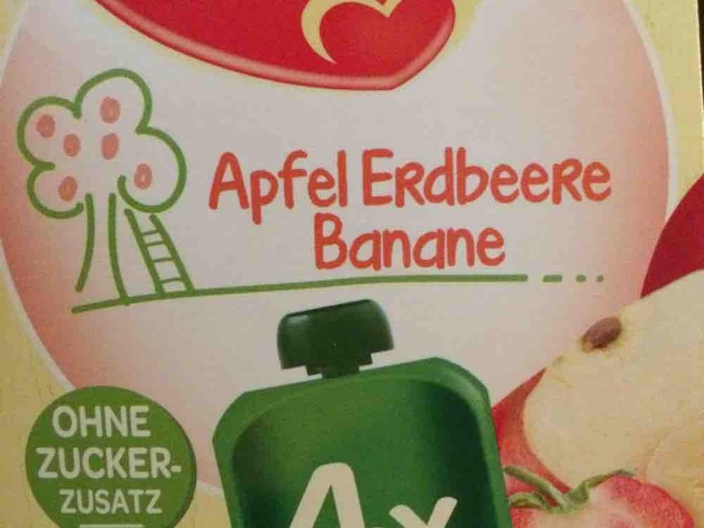 Apfel Erdbeere Banane Quetschbeutel von mikemike | Hochgeladen von: mikemike