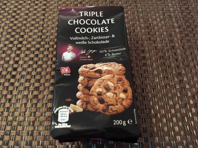 Premium Triple Chocolate Cookies (Netto) | Hochgeladen von: TwentyEight