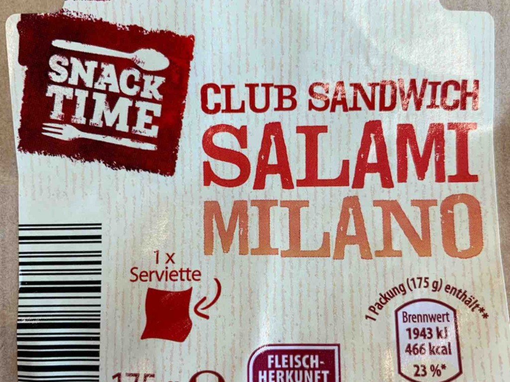 Club Sandwich Salamii Milano von robffm   Hochgeladen von: robffm