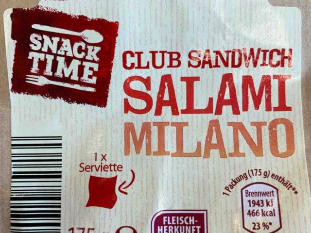 Club Sandwich Salamii Milano von robffm | Hochgeladen von: robffm