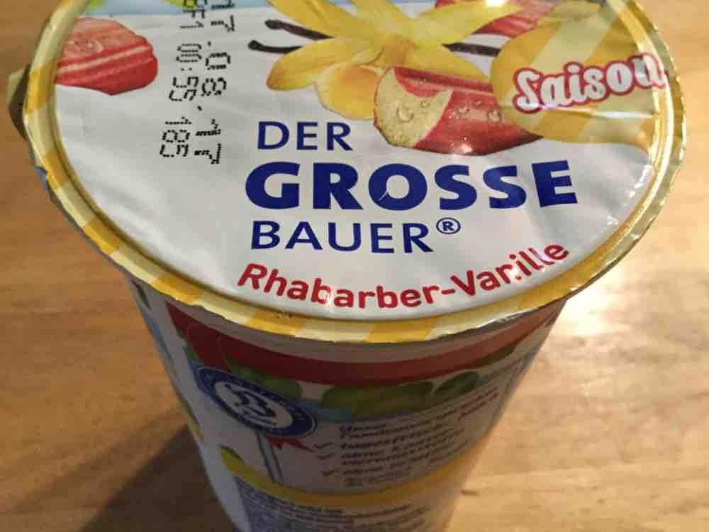 Der grosse Bauer - Saison, Rhabarber-Vanille von Berni58 | Hochgeladen von: Berni58