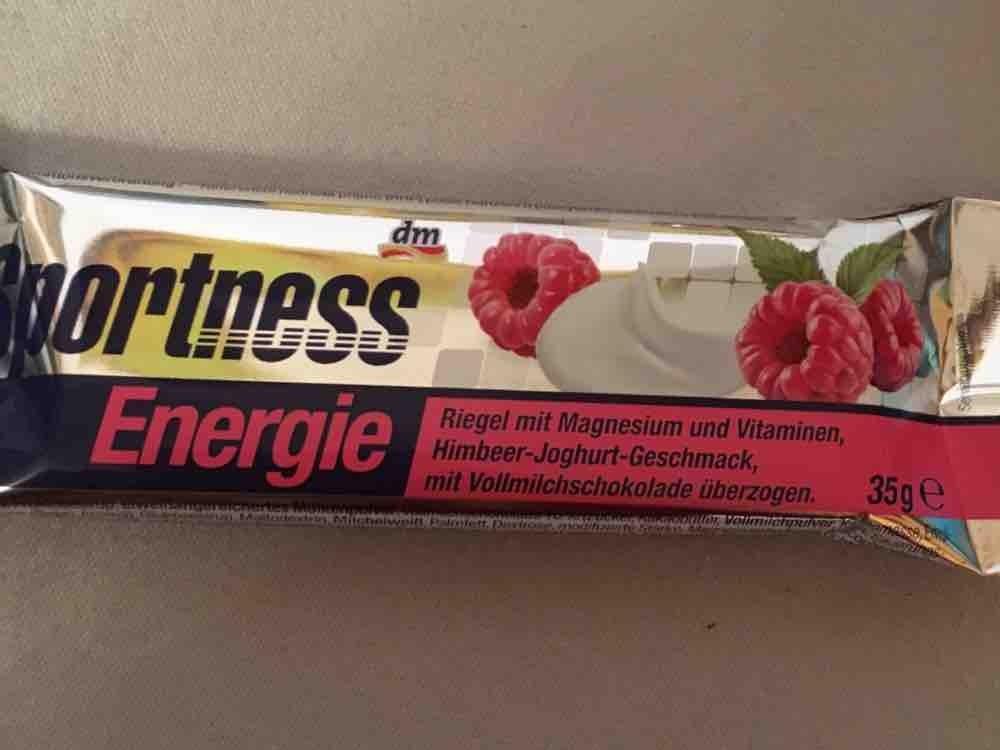 Sportness Energie, Himbeer-Joghurt von alexandra.habermeier | Hochgeladen von: alexandra.habermeier
