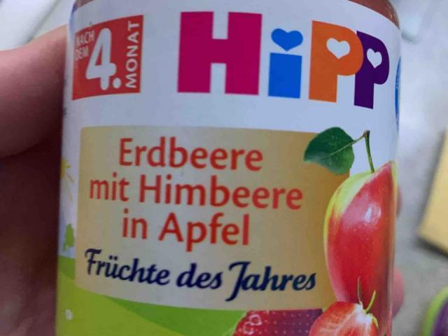 Erdbeerbrei mit Himbeere in Apfel , Äpfel, Erdbeeren, Bananen, Himbeeren  von Greg2020   Hochgeladen von: Greg2020