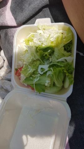 Saison-Salat, Blattsalate der Saison mit Weißkraut von Mao75   Hochgeladen von: Mao75