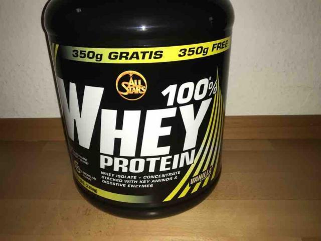Whey Protein Vanilla  von naddelger | Hochgeladen von: naddelger
