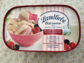 Landliebe Eiscreme Vanille-Brombeer, Vanille-Brombeer   Hochgeladen von: puscheline