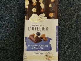 Cailler Schokolade, chocolat noir Myrtilles, Amandes & N   Hochgeladen von: DanaNici75