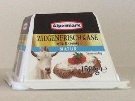 Alpenmark Ziegenfrischkäse mild & cremig , Natur | Hochgeladen von: puscheline