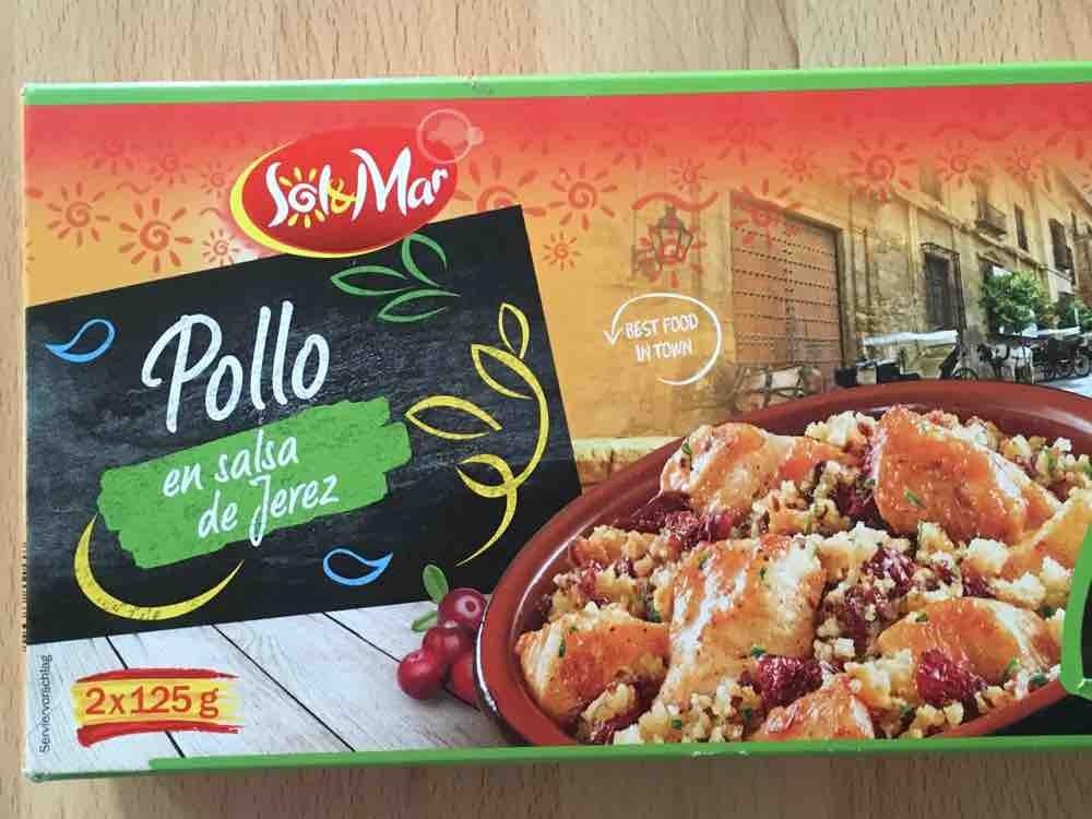 Sol Mar Pollo en  salza de Jerez, Hähnchenfleisch in Sherrysauce mit Backpflaume von AlexFlynn   Hochgeladen von: AlexFlynn