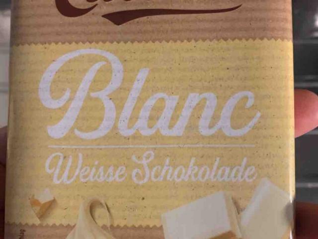 Cailler BLANC VANILLE, Vanille von daniela.sabljo | Hochgeladen von: daniela.sabljo