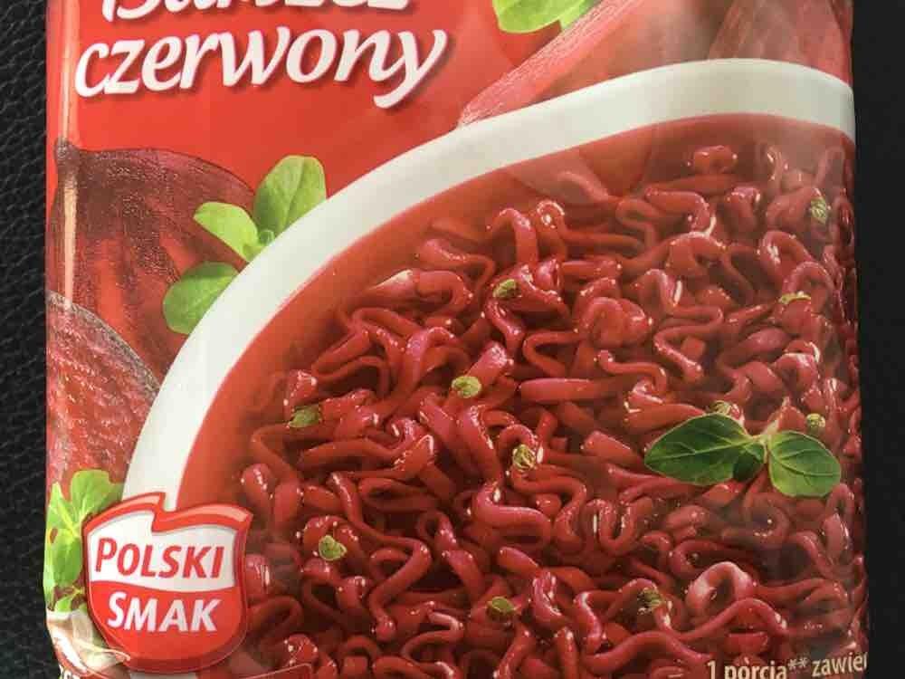 Barszcz/Borschtsch mit Nudeln czerwony, instant, Rotebeete von ButterHase | Hochgeladen von: ButterHase