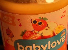 Babylove, Erdbeere und Maracuja in Apfel | Hochgeladen von: Britte