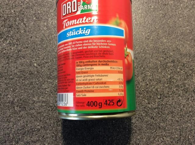 Tomaten, stückig, Oro dParma   Hochgeladen von: kruemelie