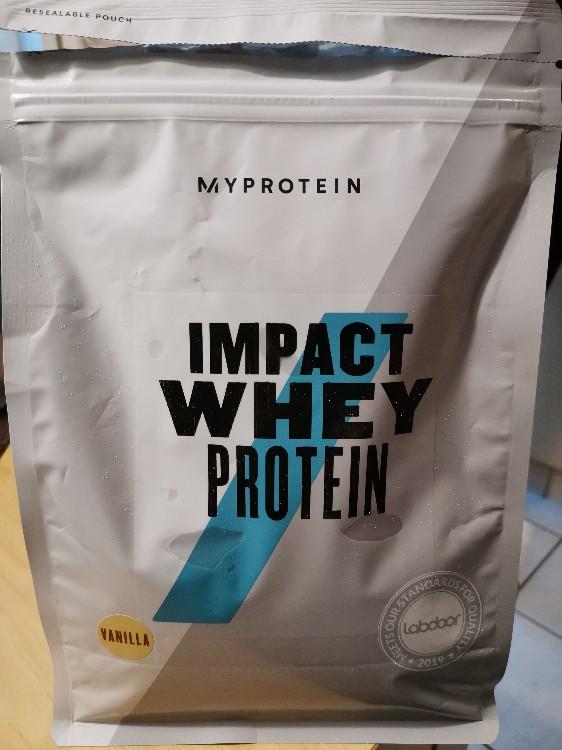 Impact Whey Protein Vanille von Tnni | Hochgeladen von: Tnni