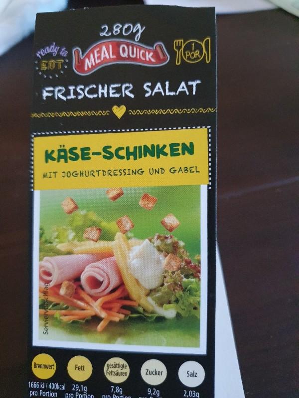 Salatmischung Meal Quick, Käse-Schinken m. Joghurtdressing  von karina1982   Hochgeladen von: karina1982
