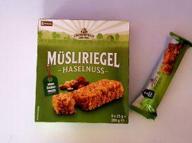 Müsli Riegel Haselnuss+Mandel, Haselnuss+Mandel | Hochgeladen von: E. J.