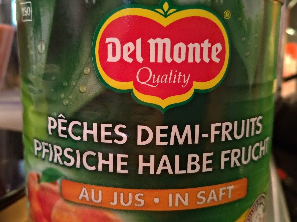 Pfirsich halbe Frucht , in Saft  von juliadoering   Hochgeladen von: juliadoering
