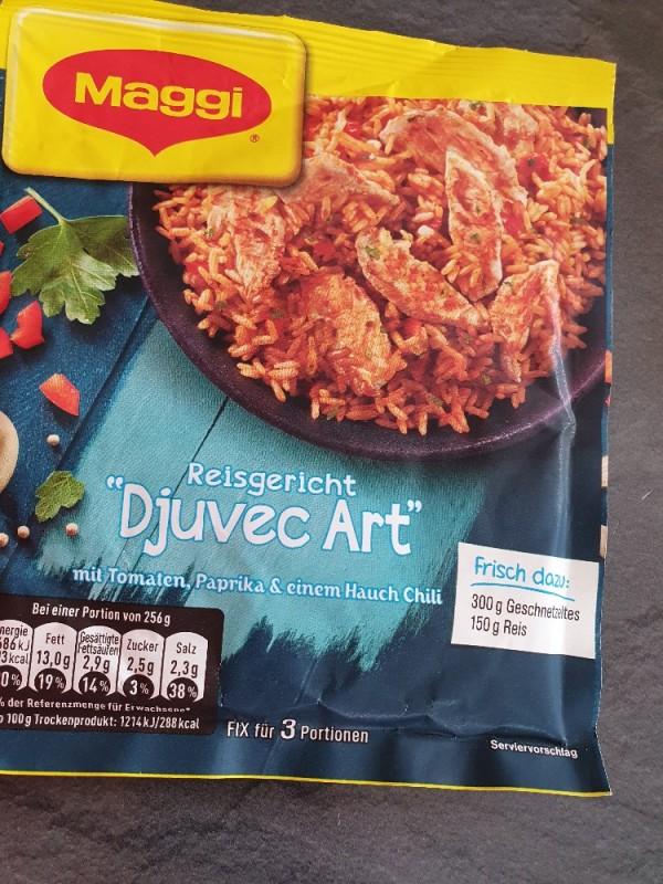Fix & Frisch, Reisgericht Djuvec-Art (Trockenprodukt) von JuttaAaron   Hochgeladen von: JuttaAaron