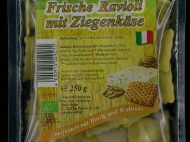 Frische Ravioli mit Ziegenkäse, Zigenkäse mitt Honig und Wal | Hochgeladen von: panni64
