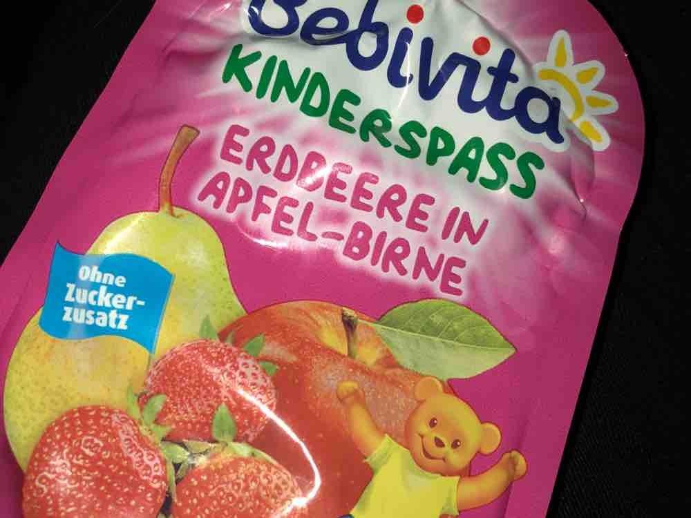 Kinder Spaß, Erdbeere in Apfel-Birne von Bettuey | Hochgeladen von: Bettuey