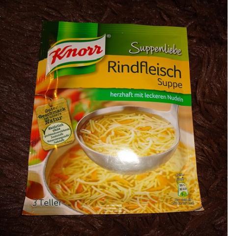 Knorr Suppenliebe, Rindfleischsuppe | Hochgeladen von: bijou222