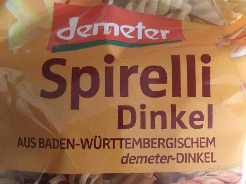 Bio Dinkel Spirelli von muellerela905 | Hochgeladen von: muellerela905
