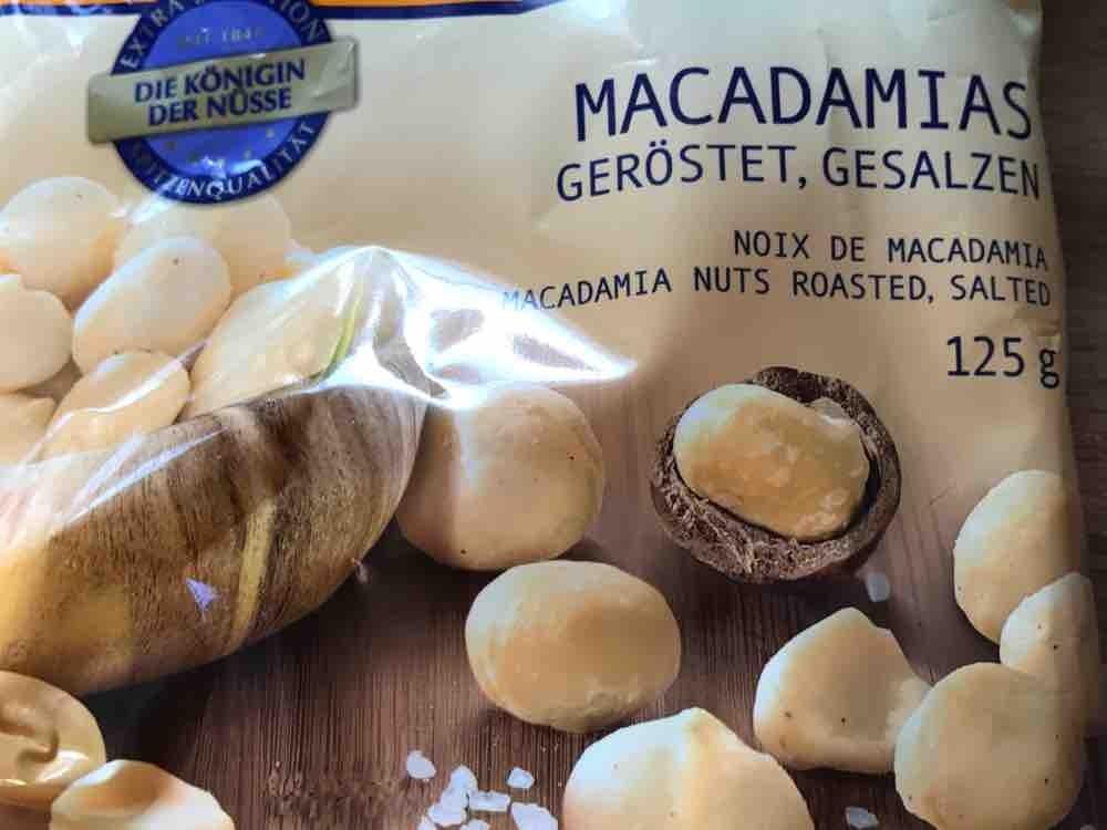 Macadamias, geröstet, gesalzen von AnPatt | Hochgeladen von: AnPatt