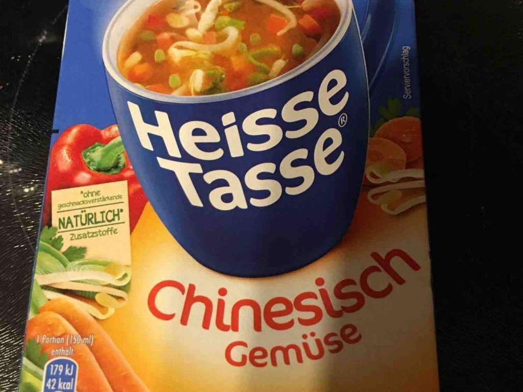 Heisse Tasse, Chinesische Gemüse-Suppe von hiavus486 | Hochgeladen von: hiavus486