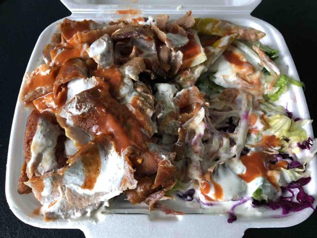 Döner Kebab Kalb, Salat, Gemüse, soße von Dutchy666 | Hochgeladen von: Dutchy666