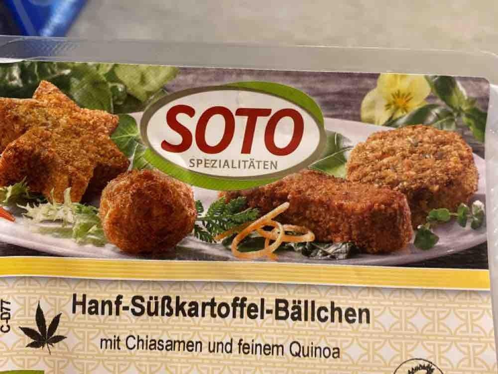 Hanf-Süßkartoffel-Bällchen, auf Quinoabasis von Supa Makoed   Hochgeladen von: Supa Makoed