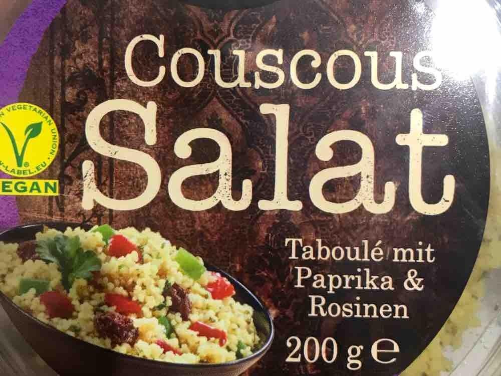Couscous Salat, Taboulé mit Paprika & Rosinen von sara1447 | Hochgeladen von: sara1447