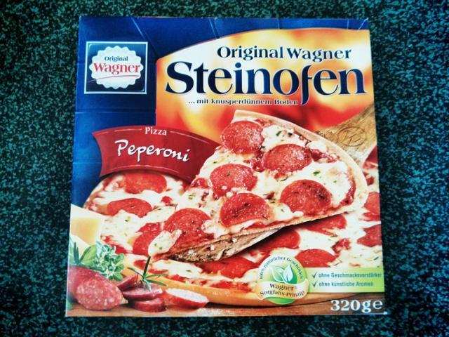 Original Wagner Steinofen Pizza, Peperoni | Hochgeladen von: RandyMS