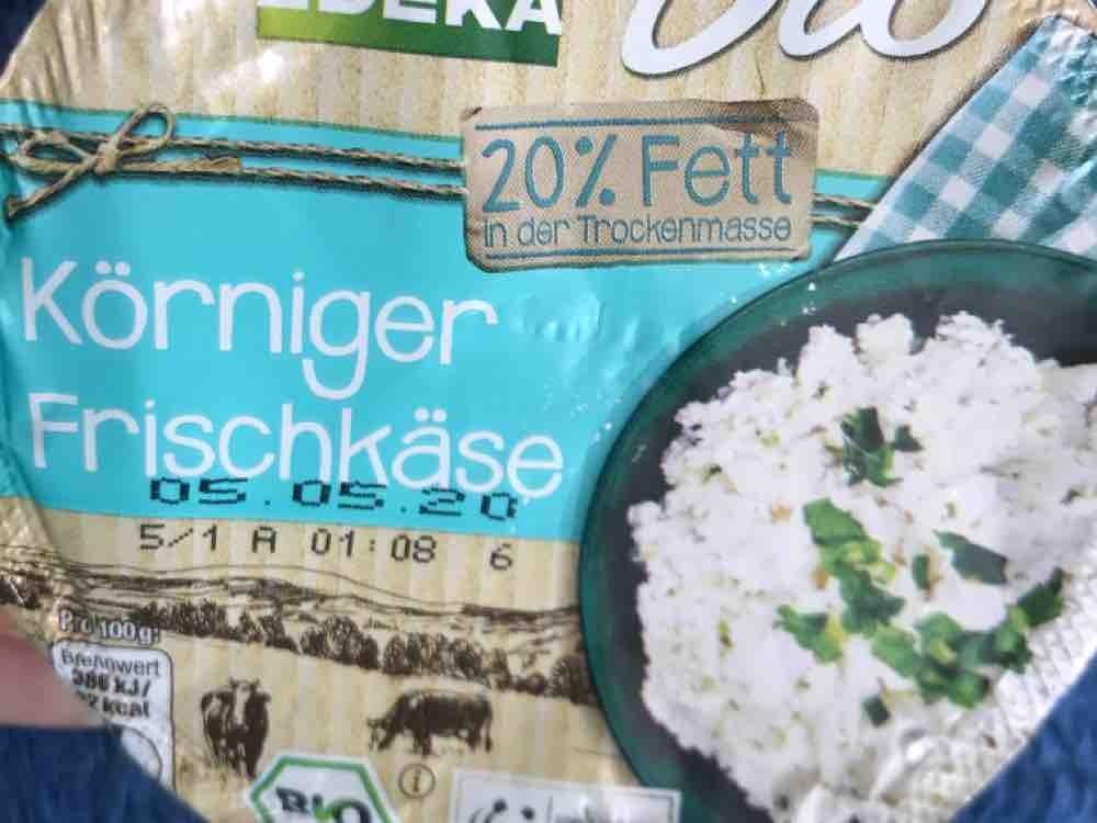 Körniger Frischkäse, 20% Fett i.Tr. von Sibel37   Hochgeladen von: Sibel37