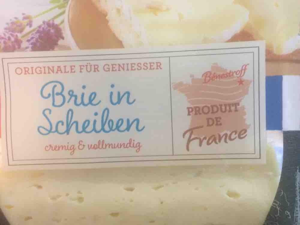 Brie in Scheiben 60% Fett von dohoge   Hochgeladen von: dohoge