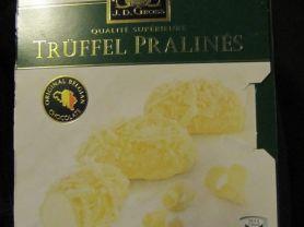 J. D. Gross, Trüffel Pralinés weiße Schokolade   Hochgeladen von: marina5376