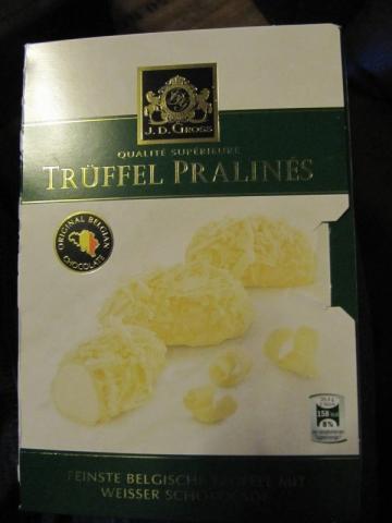 J. D. Gross, Trüffel Pralinés weiße Schokolade | Hochgeladen von: marina5376