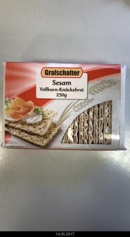 Roggen Vollkorn-Knäckebrot Sesam | Hochgeladen von: LutzR