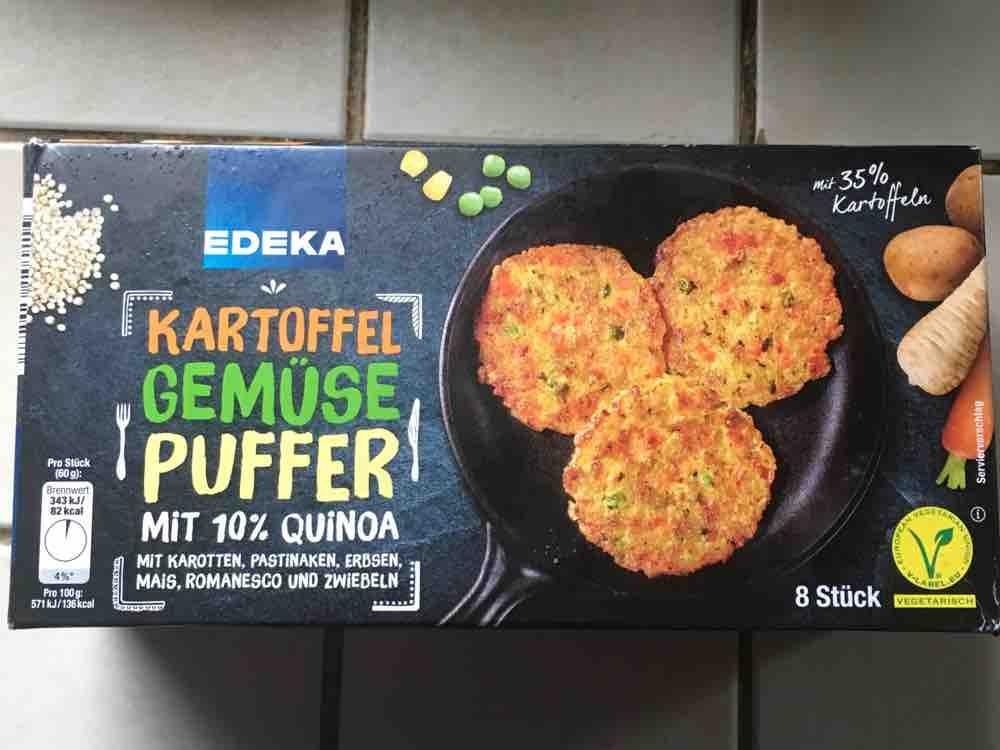 Kartoffel Kcal edeka kartoffel gemüse puffer mit 10 quinoa kalorien