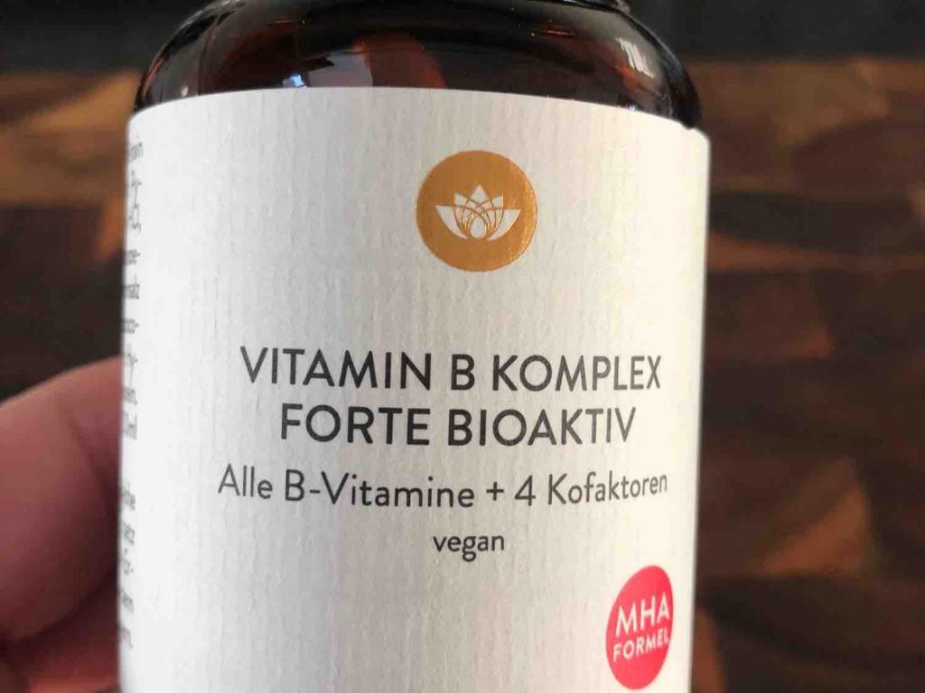 Vitamin B Komplex Forte Bioaktiv, vegan von jakomo | Hochgeladen von: jakomo