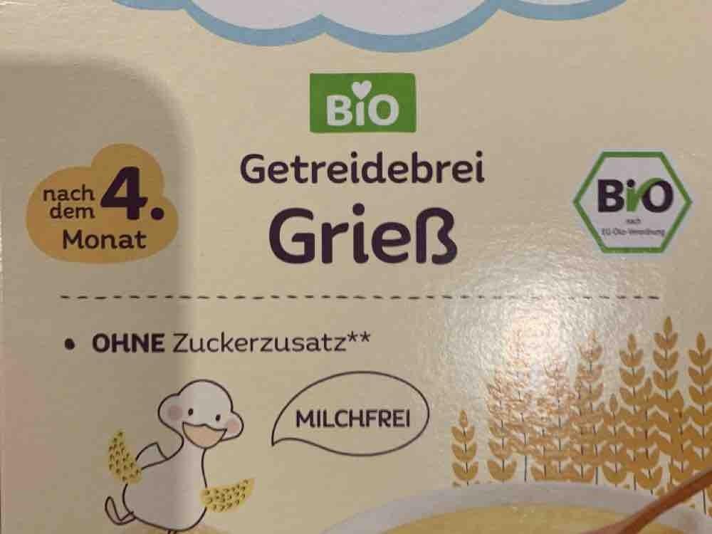 Getreidebrei Grieß von Speki   Hochgeladen von: Speki