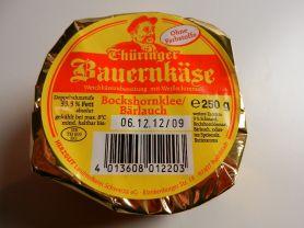 Thüringer Bauernkäse, Bockshornklee / Bärlauc | Hochgeladen von: maeuseturm