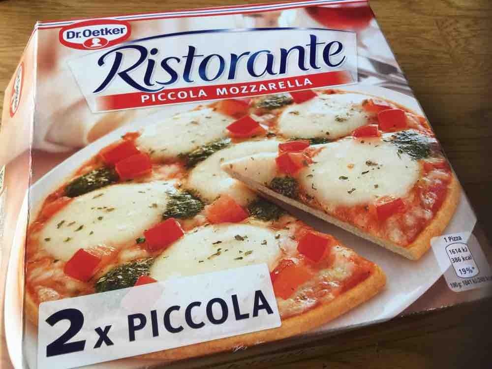 Dr Oetker Ristorante Piccola Mozzarella Kalorien Pizza Fddb
