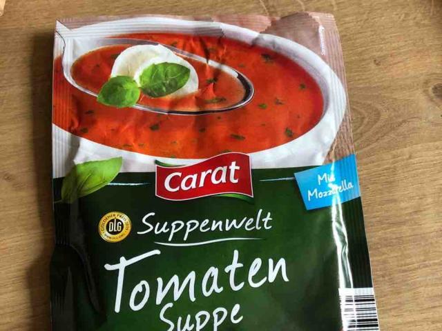 Tomatensuppe, mit Mozzarella von kanneleng   Hochgeladen von: kanneleng